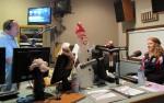 Zawadzki interviews with host Lester St. James