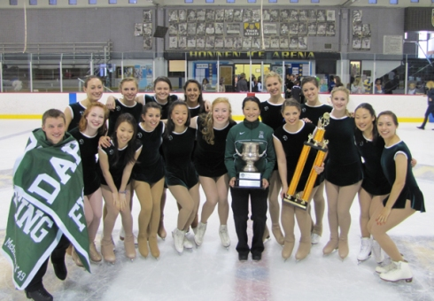 The 2012 champions, Dartmouth College.