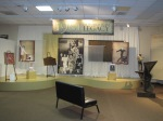 """1961 U.S. World Team Legacy Exhibit which includes """"Ascension"""" which was dedicated to the coaches who died in the crash is on right. Douglas and Meaghan Taylor-Gebler artists."""