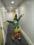 Julia Bennett of the St. Paul FSC played the scarecrow in her Wizard of Oz program.