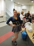 """Janelle Spangola of the Strongsville FSC performed her """"Candy Man"""" routine."""