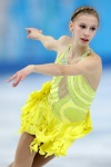 Polina Edmunds makes her Olympic debut.