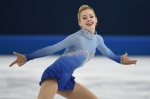 Gracie Gold performs her free skate. (Credit: Getty Images)