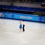 The Shibutanis are on the ice.